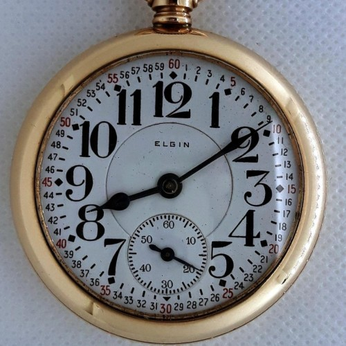 Image of Elgin 454 #25037342 Dial