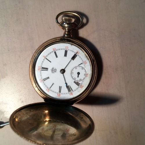Trenton Watch Co. Grade  Pocket Watch Image