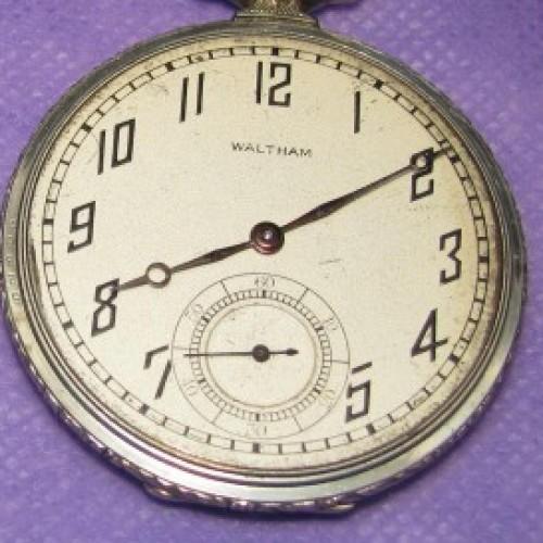 Waltham Grade No. 1225 Pocket Watch Image