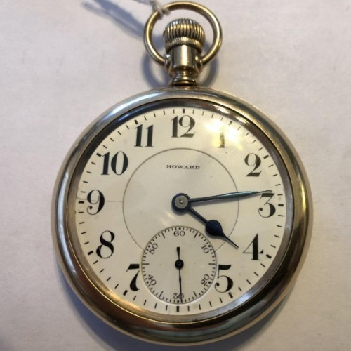 E. Howard Watch Co. (Keystone) Grade Series 10 Pocket Watch Image