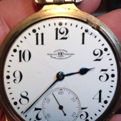 Image of Ball - Waltham Official Standard #B256189 Dial