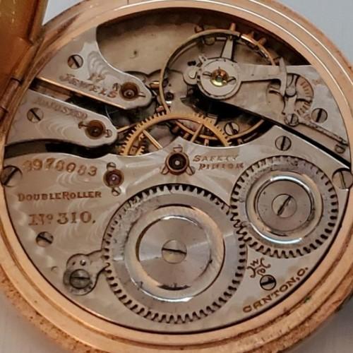 Hampden Grade No. 310 Pocket Watch Image