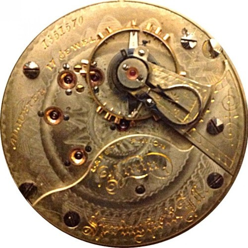Illinois Grade Bunn Pocket Watch Image