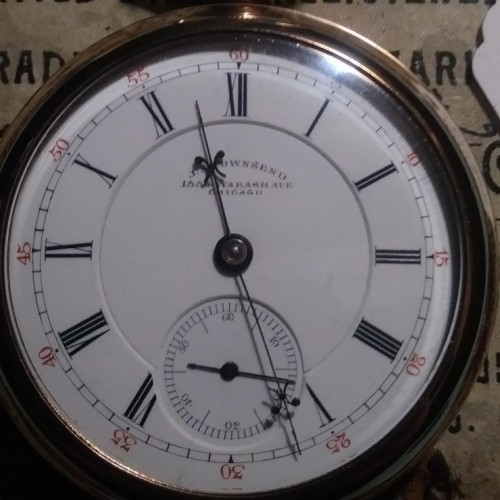 Image of Hampden No. 62 #397319 Dial