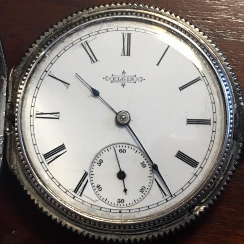 Elgin Grade 95 Pocket Watch Image