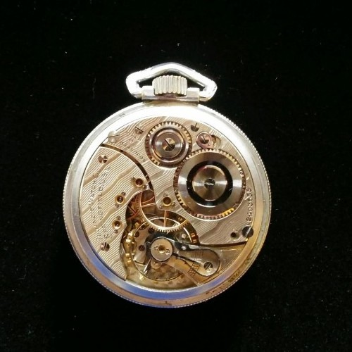 Illinois Grade 605 Pocket Watch Image