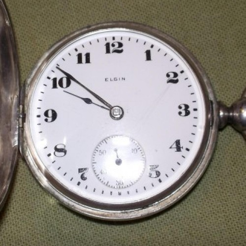 Elgin Grade 97 Pocket Watch Image