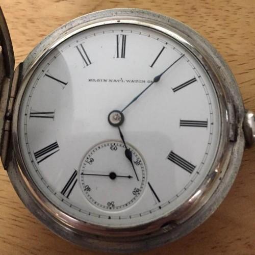 Elgin Grade 88 Pocket Watch Image