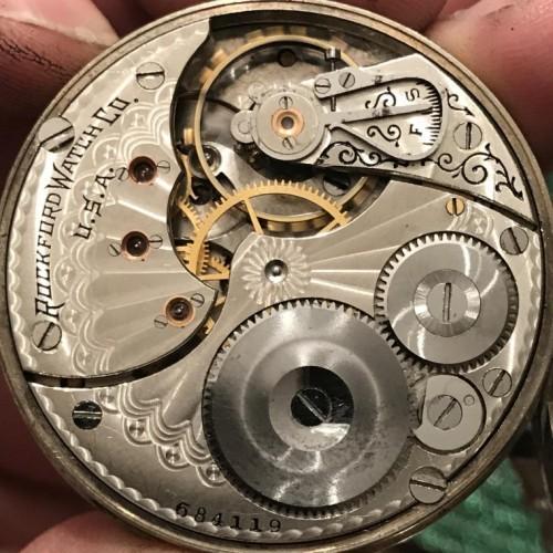 Rockford Grade 605 Pocket Watch Image
