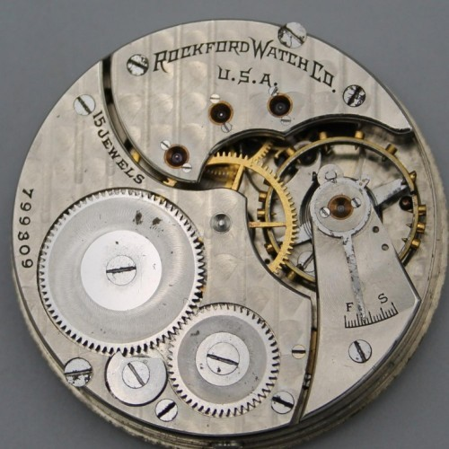 Rockford Grade 587 Pocket Watch Image