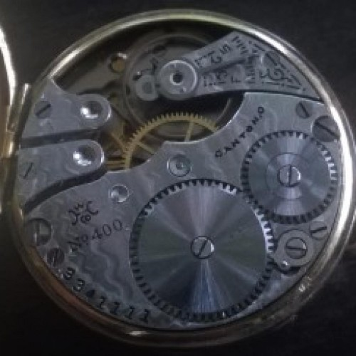 Hampden Grade No. 400 Pocket Watch Image