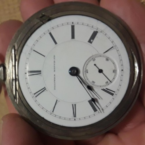 Illinois Grade 60 Pocket Watch Image