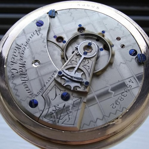 Waltham Grade No. 15 Pocket Watch Image
