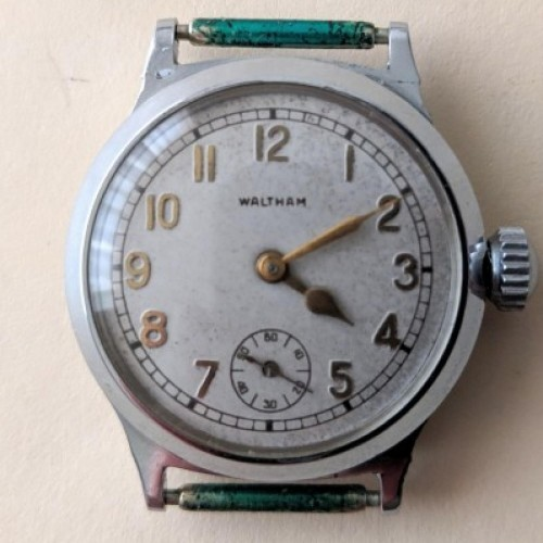 Waltham Grade No. 371 Pocket Watch Image