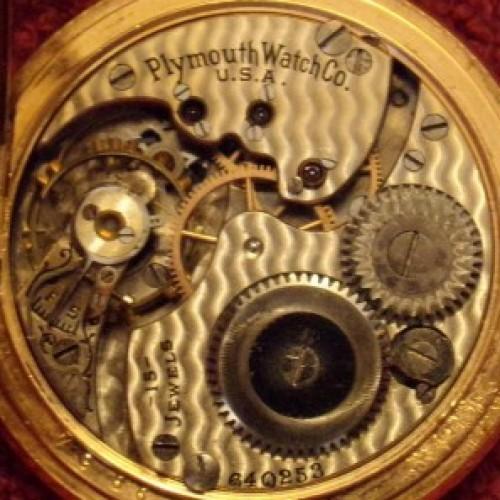Rockford Grade 162 Pocket Watch Image