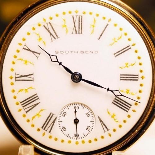 South Bend Grade 219 Pocket Watch Image