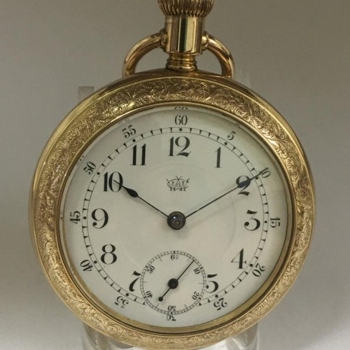 Waterbury Watch Co. Grade Series K Pocket Watch Image