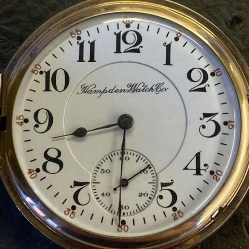 Hampden Grade No. 95 Pocket Watch Image