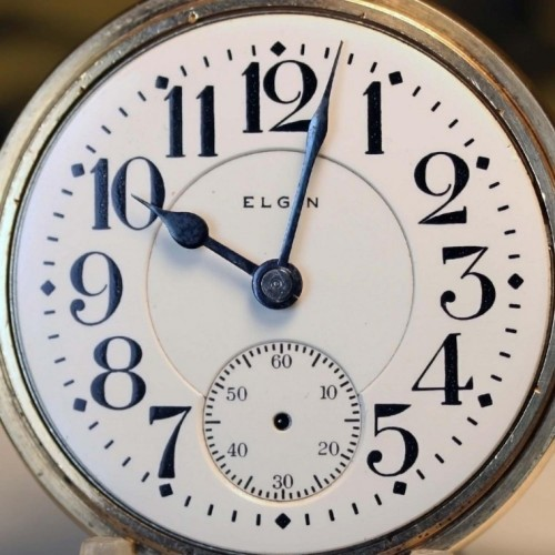 Image of Elgin 338 #16404016 Dial