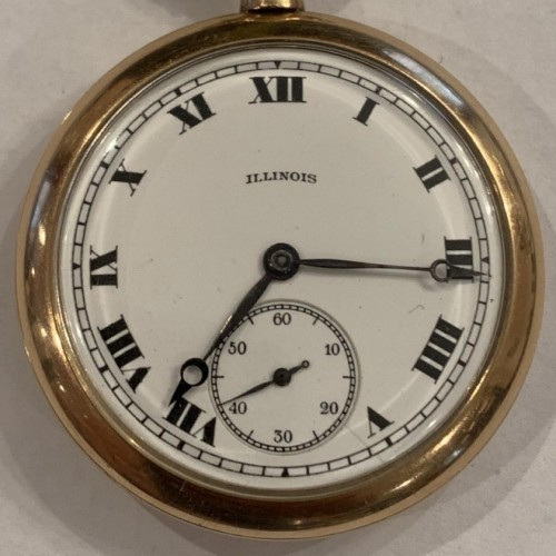 Illinois Watch Co  Pocket Watch Serial Number Lookup & Identify
