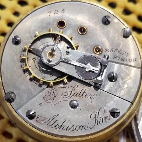 Fredonia Watch Co. Grade  Pocket Watch Image