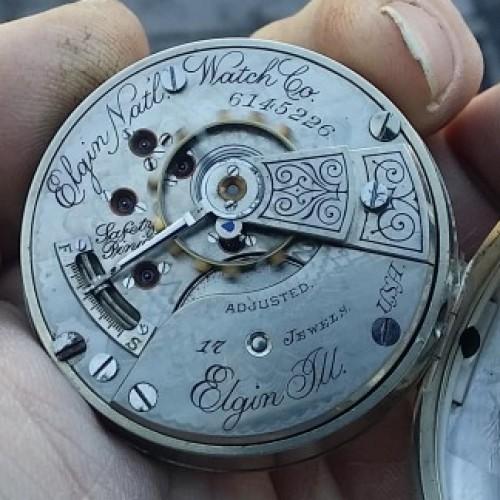 Elgin Grade 148 Pocket Watch Image