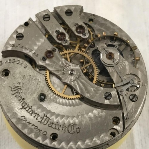 Hampden Grade No. 109 Pocket Watch Image