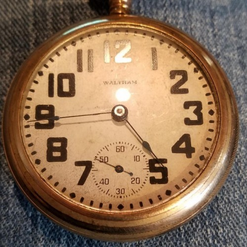 Image of Waltham No. 81 #13135395 Dial