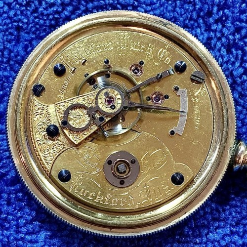 Rockford Grade 15 Ruby Jewels Pocket Watch Image