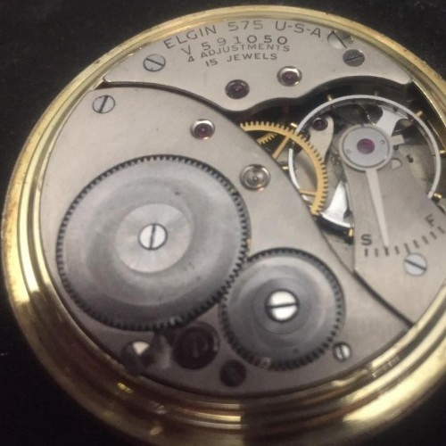 Image of Elgin 575 #V591050 Movement