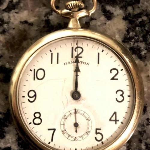 Image of Hamilton 910 #1892588 Dial