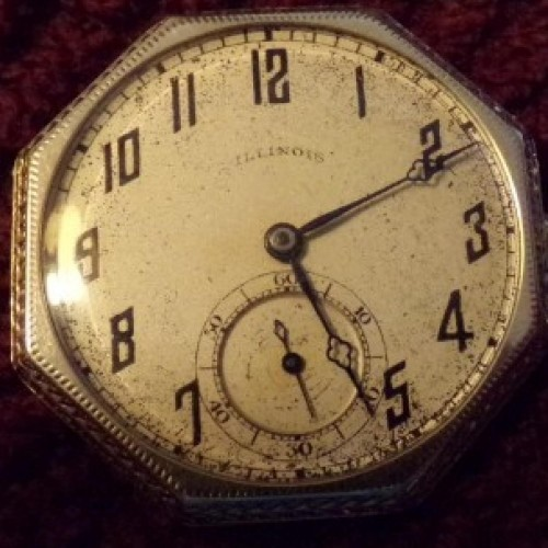 Illinois Grade 274 Pocket Watch Image