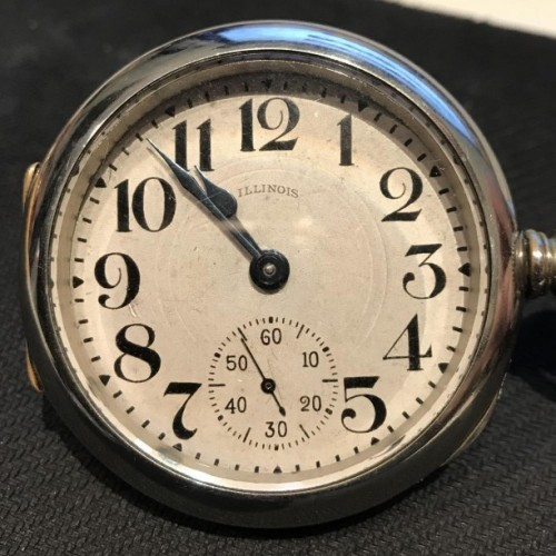 Illinois Grade 65 Pocket Watch Image
