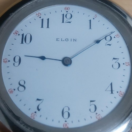 Elgin Grade 289 Pocket Watch Image