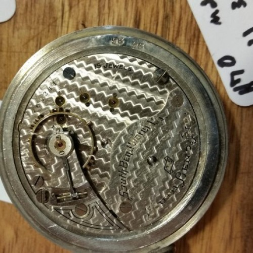 South Bend Grade 305 Pocket Watch Image