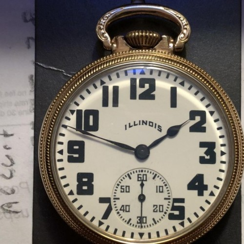 Illinois Grade 707 Pocket Watch Image
