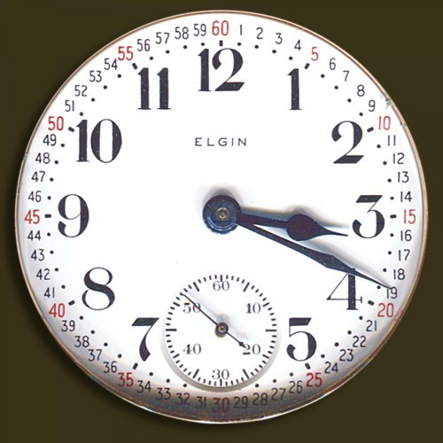Elgin Grade 335 Pocket Watch Image