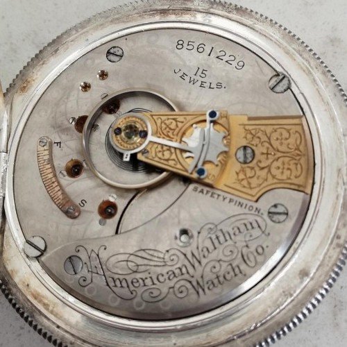 Waltham Grade No. 820 Pocket Watch Image