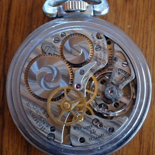 Image of Hamilton 4992B #4C62119 Movement