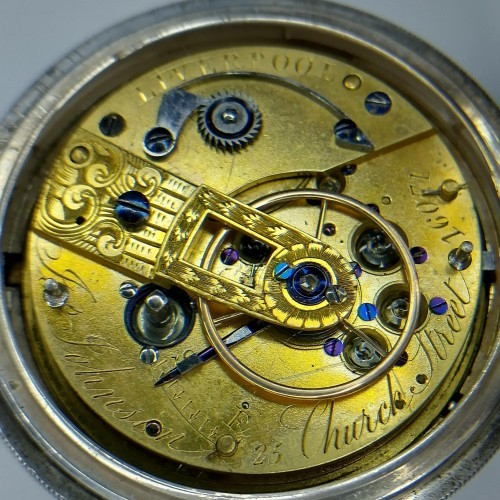 Other Grade Joseph Johnson 1830's Pocket Watch Image