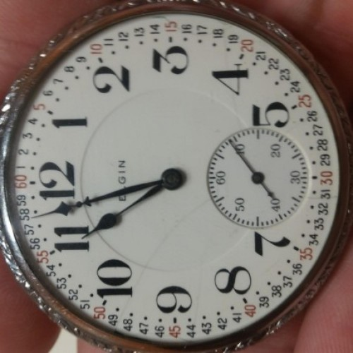 Elgin Grade 382 Pocket Watch Image