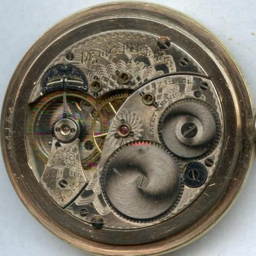 Elgin Grade 321 Pocket Watch Image