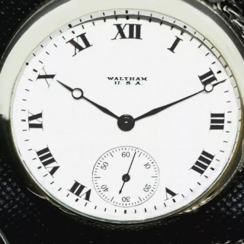 American Watch Co. Grade P.S Bartlett Pocket Watch Image