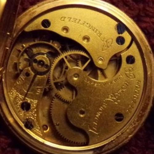 Illinois Grade 14 Pocket Watch Image