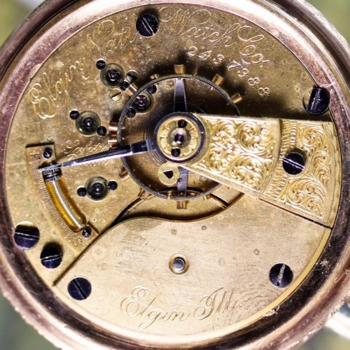 Elgin Grade 75 Pocket Watch Image