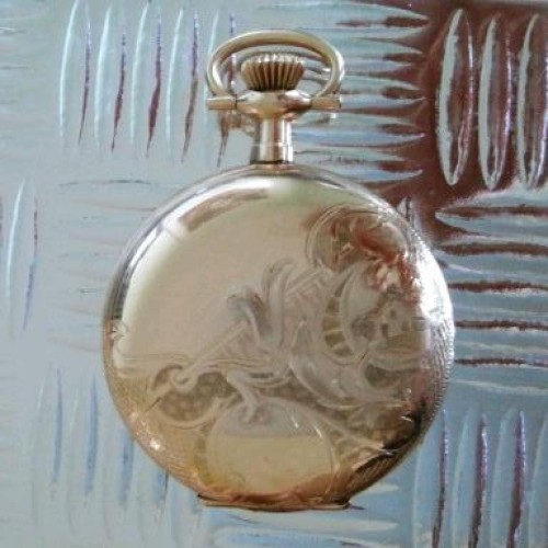 Waltham Grade No. 365 Pocket Watch Image