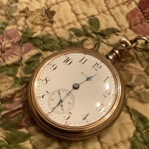Elgin Grade 319 Pocket Watch Image