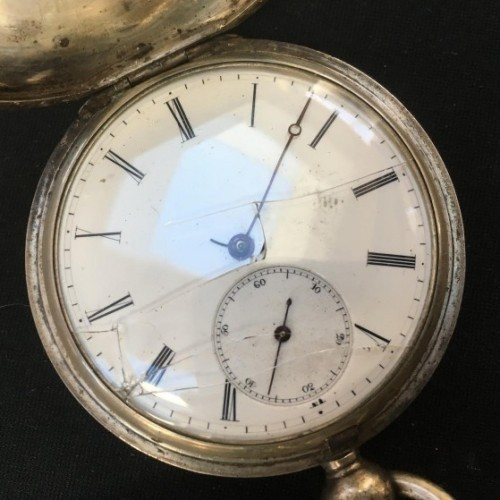 Union Watch Co. Grade  Pocket Watch Image