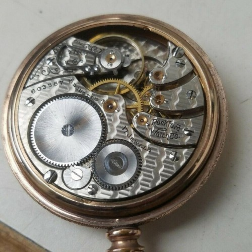Rockford Grade 561 Pocket Watch Image