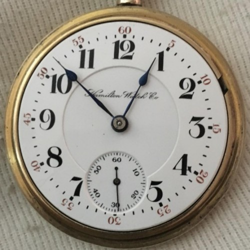 Hamilton Grade 942 Pocket Watch Image